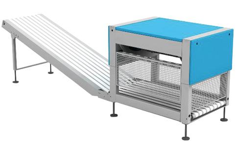 DM800折叠机配套用堆码机