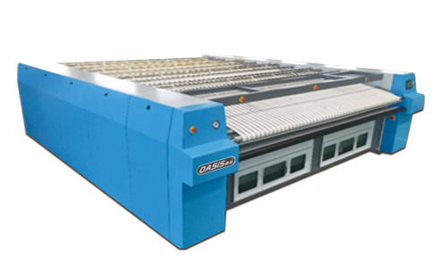 YP-3300IVZ水洗厂烫平机_蒸汽加热