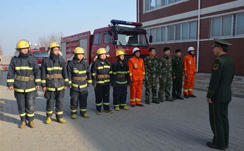 河北沧州黄骅市消防救援大队